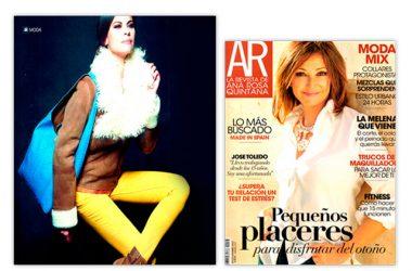 Bolso XL en piel de pitón. Maria José Suarez. AR Magazine.
