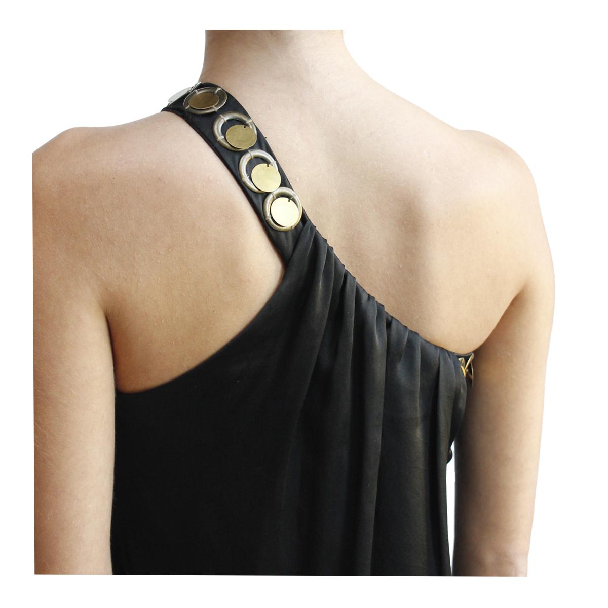 black dress Kruger Long Dress Negro