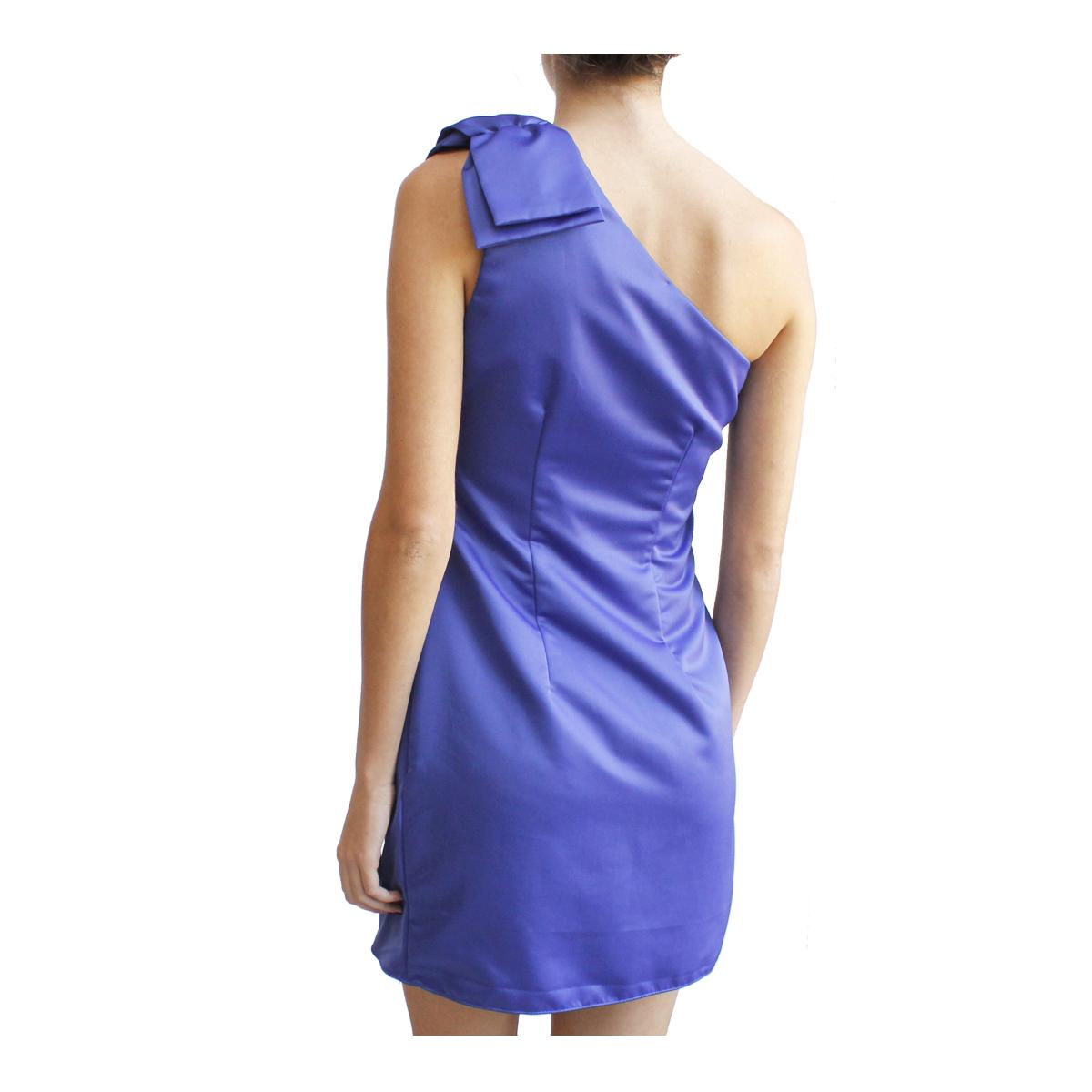 Audrey Dress morado espalda